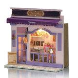 Casa de boneca de brinquedo de madeira europeia de design novo