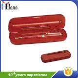 De houten Doos van de Pen met 3 Pennen