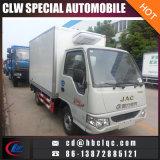 JACの小型サイズの冷凍のトラックボディRefrigeratdeの輸送のトラック