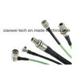 """asamblea de cable coaxil de puente del 1/2 """" con el conector de N/DIN"""