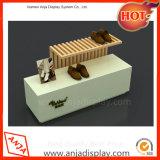 店のためのMDFの靴の陳列台の表示装置