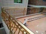 Pêche à la traîne extérieure élégante et classique d'escalier en métal