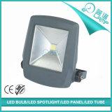Venta al por mayor ligera al aire libre del reflector gris de 30W LED