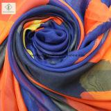 Повелительница Способ Шелк Шарф шарфов пляжа способа длиной напечатанная
