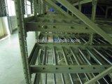 Sistema di racking del magazzino di rotolamento di gravità del sistema di flusso della scatola del sistema di FIFO