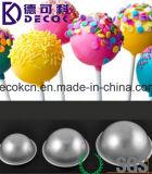 45mm 55mm 65mm 70mm 80mm Aluminiumlegierung-Kugel-Bereich-Bad-Bomben-Form-Kuchen-Backen-Gebäck-Form