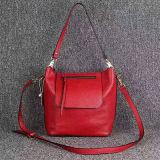 Sacchetto di spalla di cuoio reale delle borse delle signore di marca del progettista Emg4597