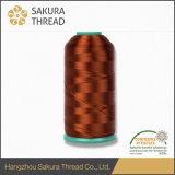 Oeko-Tex Sakura 무료 샘플을%s 가진 100%년 레이온 자수 스레드