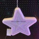 Luz de la noche de la Navidad de la luz de la estrella del LED para la decoración