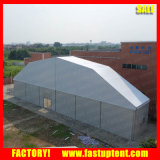 Polygon-Zelt mit Klimaanlage für Ereignis-Lebesmittelanschaffungausstellung Speicher