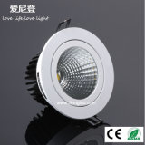 Bon état encastré COB 18W LED Downlight Dimmable LED Spotlight