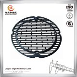 グリルのための鋳鉄のグリル鍋の鋳鉄のグリドルの熱の版