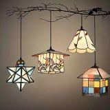Moderne Farbe, die bereiftes Glas-Kaffeestube-Stab-Deckenleuchte-Lampe ändert
