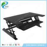 Bureau réglable de hauteur de taille de Jeo Ld02 A2 d'ordinateur bon marché moyen de noir