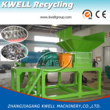 Défibreur/broyeur hydrauliques du PE pp pour le pneu de cadre de papier de sac de film