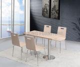 도매 나무로 되는 식당 고정되는 테이블 카페테리아 군매점 테이블 (NK-DTE326)