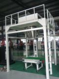 Máquina de ensaque secada da ameixa com transporte e a máquina de costura