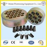Cabeças da escora (placas da cunha) para Prestressing o concreto