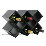 Caixa exclusiva de armazenamento de vinho de couro artesanal Design personalizado