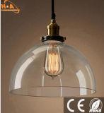 Varia lámpara pendiente colgante nueva de la lámpara del vidrio LED de las dimensiones de una variable