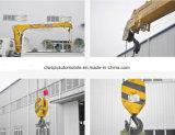 Isuzu 2 tonnes double de grue montée de la cabine 4X2 par camion