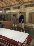 Нутряная дверь прокатанная PVC деревянная для промышленного проекта