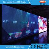 Afficheur LED P2.5 polychrome d'intérieur de HD pour la salle de réunion