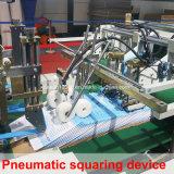 Machine ondulée de Gluer de dépliant de cadre de quatre coins (SCM-1800PC C4)