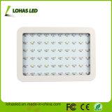 lo spettro completo dei doppi chip dell'indicatore luminoso 60X10 della pianta di 600W LED si sviluppa chiaro per la coltura idroponica
