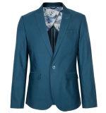 도매 남자 회색 모직은 재킷 외투 블레이저 코트를 적응시킨다