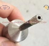 Porcelainwareの石器の穴あけ工具のための真空によってろう付けされる乾燥した穴あけ工具