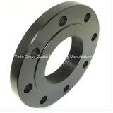 Bride de Slip-on d'acier du carbone d'ajustage de précision de pipe