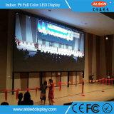 Panneau fixe polychrome d'intérieur d'Afficheur LED de HD P6