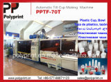 Automatisches Cup Thermoforming und stapelnde Maschine (PPTF-70T)