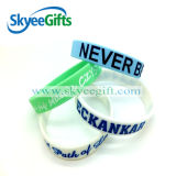 Wristband del silicone del fornitore del braccialetto del silicone della Cina