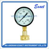 측정하 기계적인 압력계를 시험하는 부르동 관 물