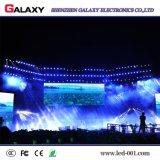 쇼, 단계, 회의를 위한 곡선 모양 실내 P2.98/P3.91/P4.81/P5.95 임대 LED 스크린