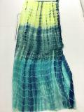 Tela del tinte del lazo del rayón Hztd130 para las alineadas de la manera de la ropa