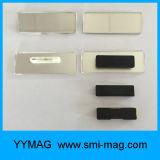 2017の習慣の贅沢によってリサイクルされる金属の磁気名前入りの記章の磁石