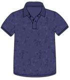 Il cotone 100% Piquet ha stampato l'indumento di polo dei Mens tinto