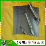 Natural Mica Sheet Clear Silver