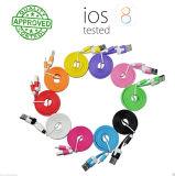 Flaches Blitz-Aufladeeinheits-Daten-Synchronisierung USB-Kabel für iPhone Samsung
