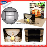 2017 Novo design Hot Sale Pop up Promotion Table / Recepção Desk / Pop up Counter