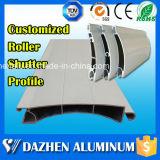 Profil en aluminium populaire de l'extrusion T5 de l'obturateur de roulement d'obturateur de rouleau de l'Afrique du Sud 6063 avec anodisé