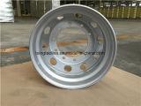 トラックおよびトレーラーのための鋼鉄タイヤの合金の車輪の縁