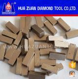 De hoogste Geavanceerd technische van het Niveau Segmenten van de Diamant voor Marmeren Knipsel