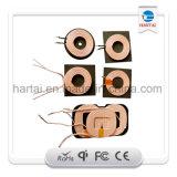 Bobina de carga Qi Coil Ferrite para carregador sem fio