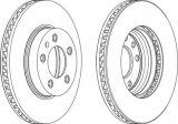 Auto Pièces de rechange Disque de frein pour Porsche / Volkswagen