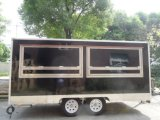 깔판 포장을%s 가진 이동할 수 있는 음식 트럭 간이 건축물 손수레를 위한 부엌 장비