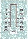 """هوائيّة أدوات مقياس 21 5/8 """" دقيقة تاج دباسة [فس8016-ب]"""